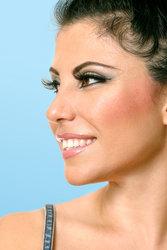 cutcaster-photo-100847382-beautiful-woman-face-looking-sideways