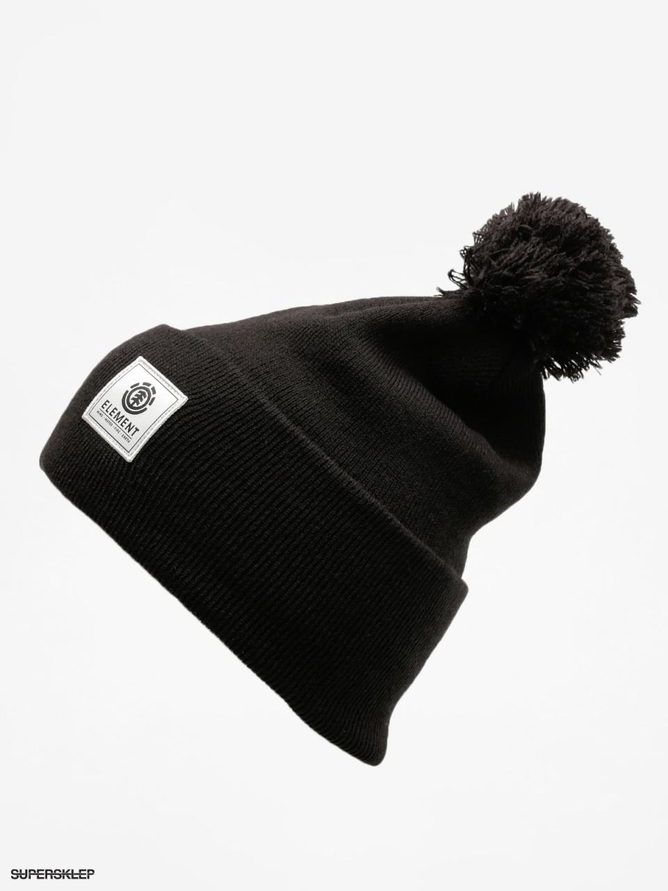 czapka-zimowa-element-dusk-pom-beanie-a-flint-black